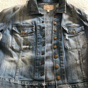 Current Elliott jean jacket